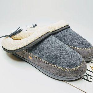 Kooba Top Folded Bow Back House Slippers New